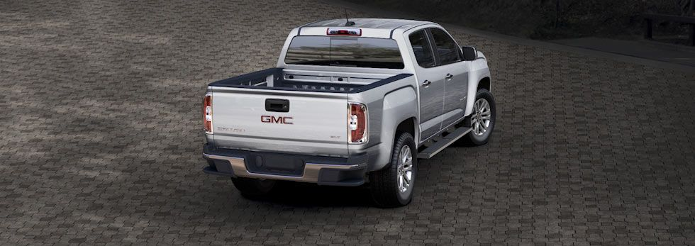 2015 Gmc Canyon In Quicksilver Metallic With Images Gmc Chevy Trucks Gmc Canyon