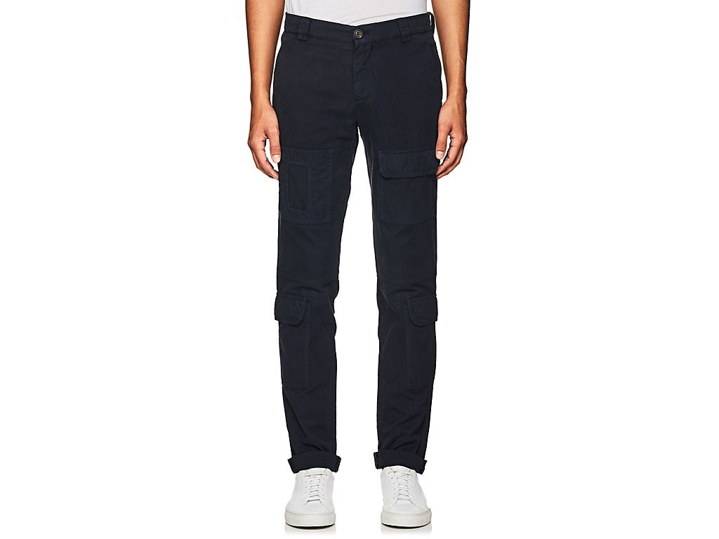 Cheap In China Best Sale For Sale Cargo trousers Leisure Fit navy Brunello Cucinelli G6lXxtZsb