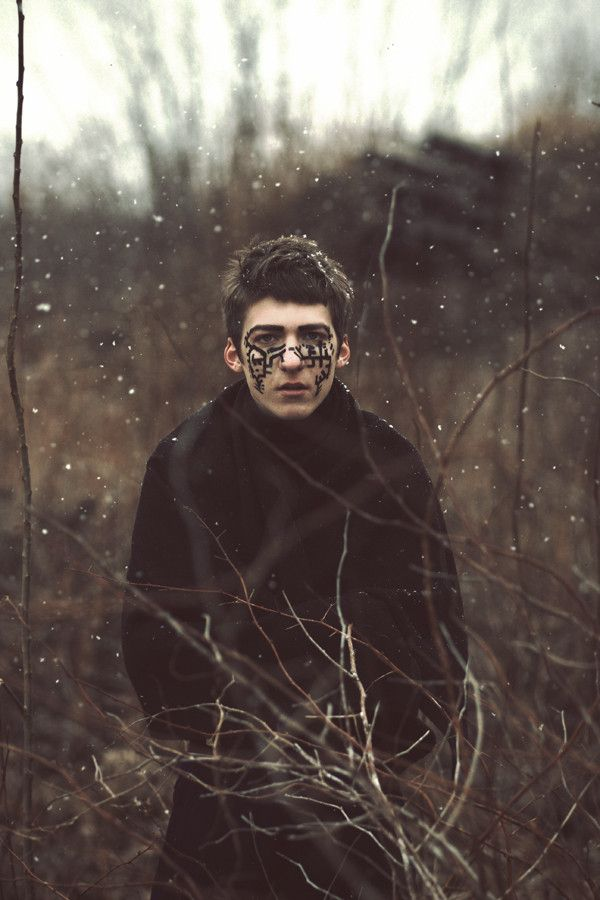 magical beautiful men, male, witch, pagan, men, ritual-crafters, witchy fashion. Hex... Untitled by Valentin Vlasenko