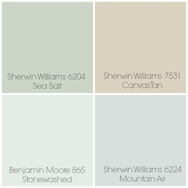 Finalized The Paint Colors For Our Home Sea Salt Entry Dining Room Canvas Tan Living