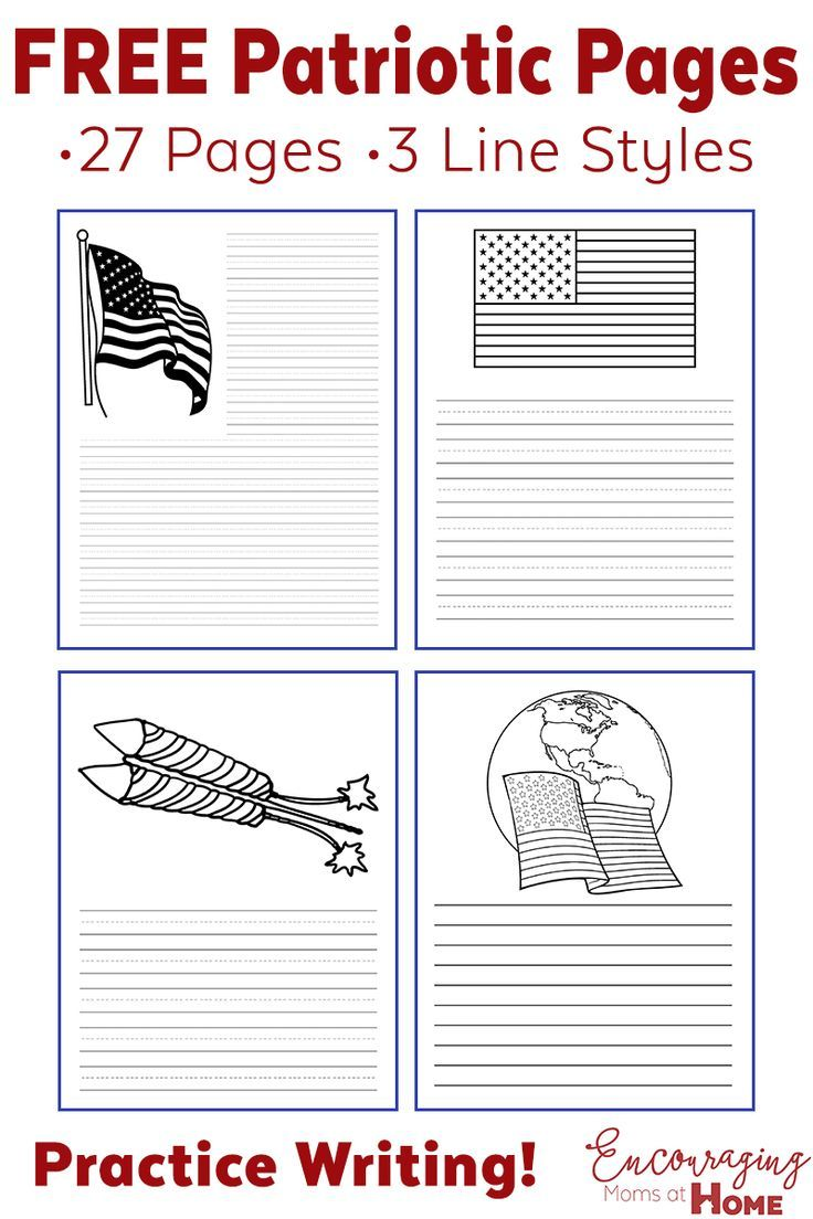 Fourth Of July Ideas Free Printables Writing Paper And More Writing Paper Homeschool Encouragement Homeschool Inspiration [ 1104 x 736 Pixel ]