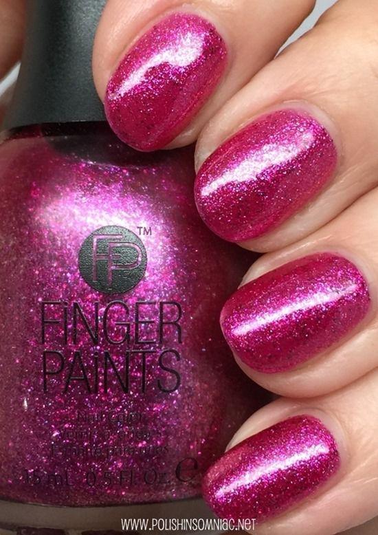 FingerPaints 2015 Swatches ♥ Part One | Nail polish colors, Swatch ...
