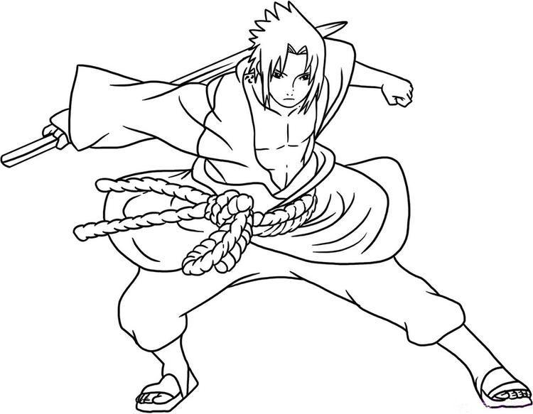 Naruto Coloring Pages Sasuke Shippuden Sasuke Drawing Cartoon Coloring Pages Coloring Pages