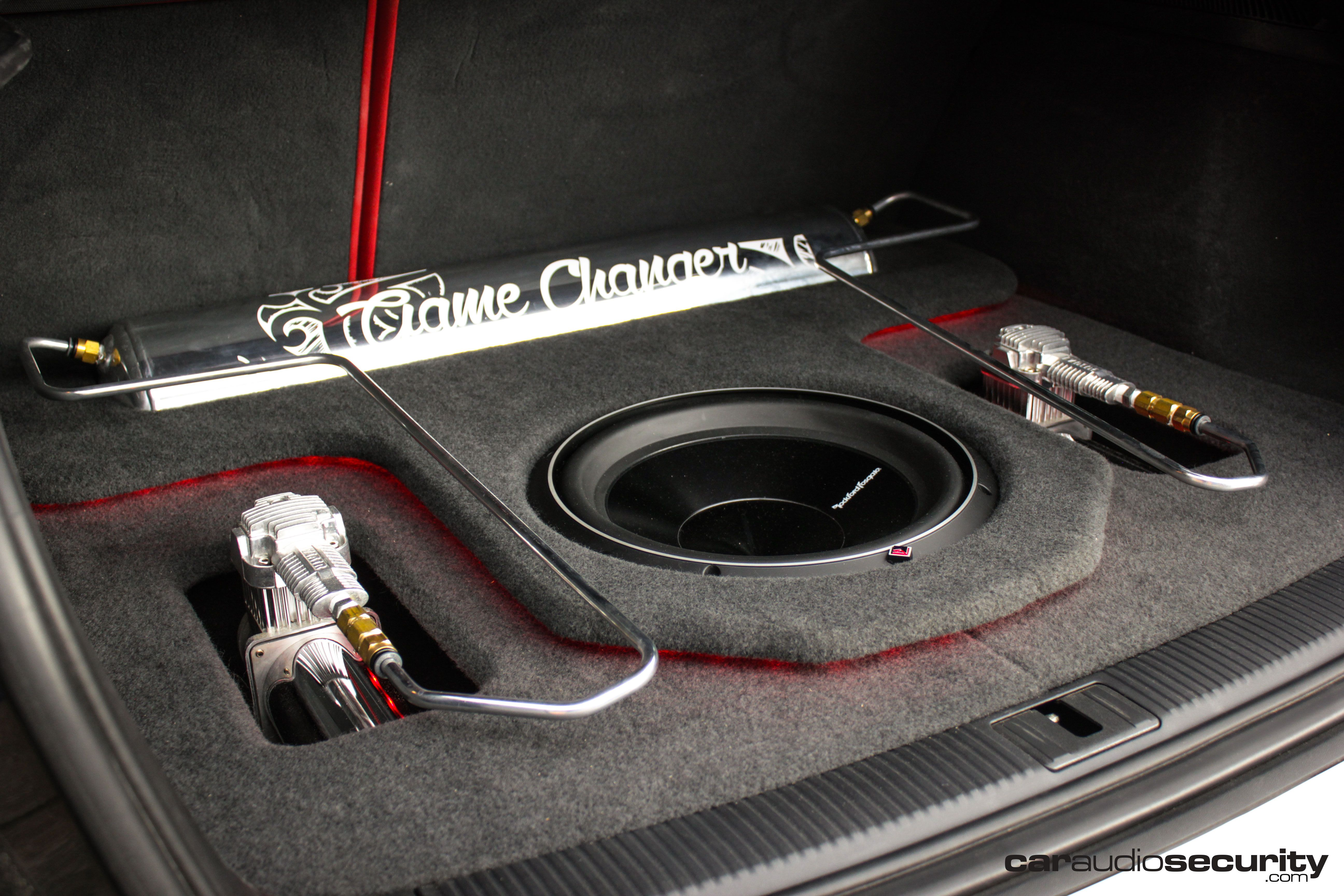 Audi RS3 Custom Boot Build   Rockford Fosgate   Airlift Performance ...