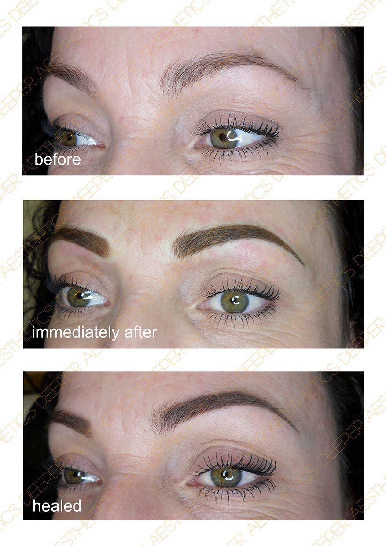 Permanent Make Up By Deeper Aesthetics Www Deeperaesthetics Co Uk Eyebrows Microblading Healing Process Make Up