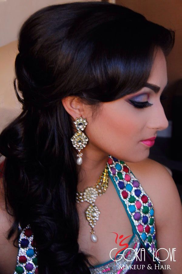 Latest Indian Fashion Bridal Wedding Hairstyles Trends Tutorials Collection Consists Of Stylish Braids Classic Buns Beautiful Updos Open Curls Waves
