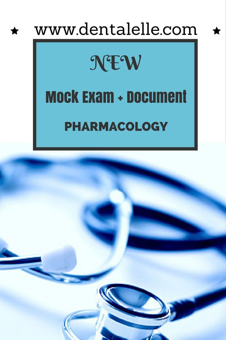 Free pharmacology review for dental hygiene students a full 1 hour free pharmacology review for dental hygiene students a full 1 hour of mock exam type questions malvernweather Choice Image
