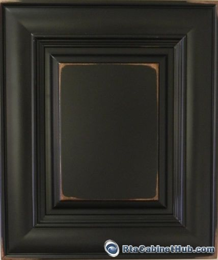 Rta Kitchen Cabinets Distressed Black Cabinet Hub