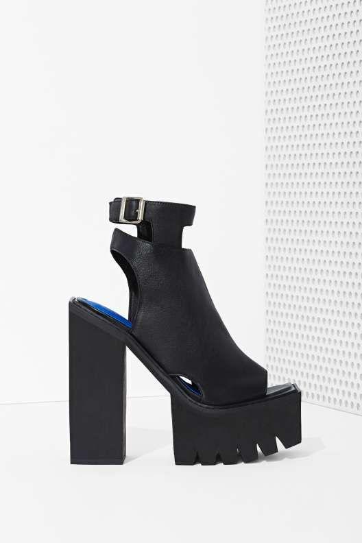 Jeffrey Campbell Milieu Leather Heel