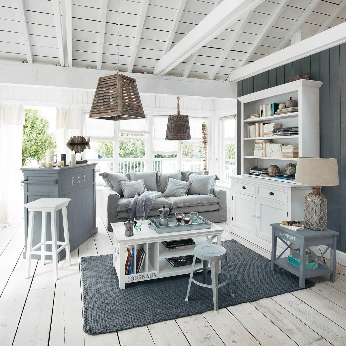 Wintergarten Landhausstil Bücherregal Aus Holz B 130 Cm Weiß In 2019 Shoppen