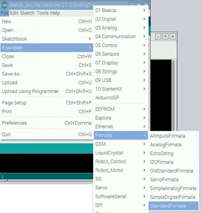 Upload PyFirmat Firmware on Arduino | А Цікаво | Arduino