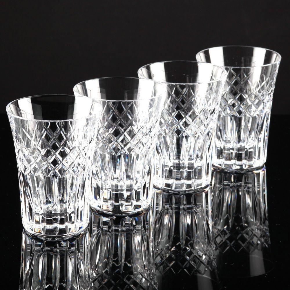 Wassergläser details zu 4 hochwertige vintage becher wassergläser kristall gläser