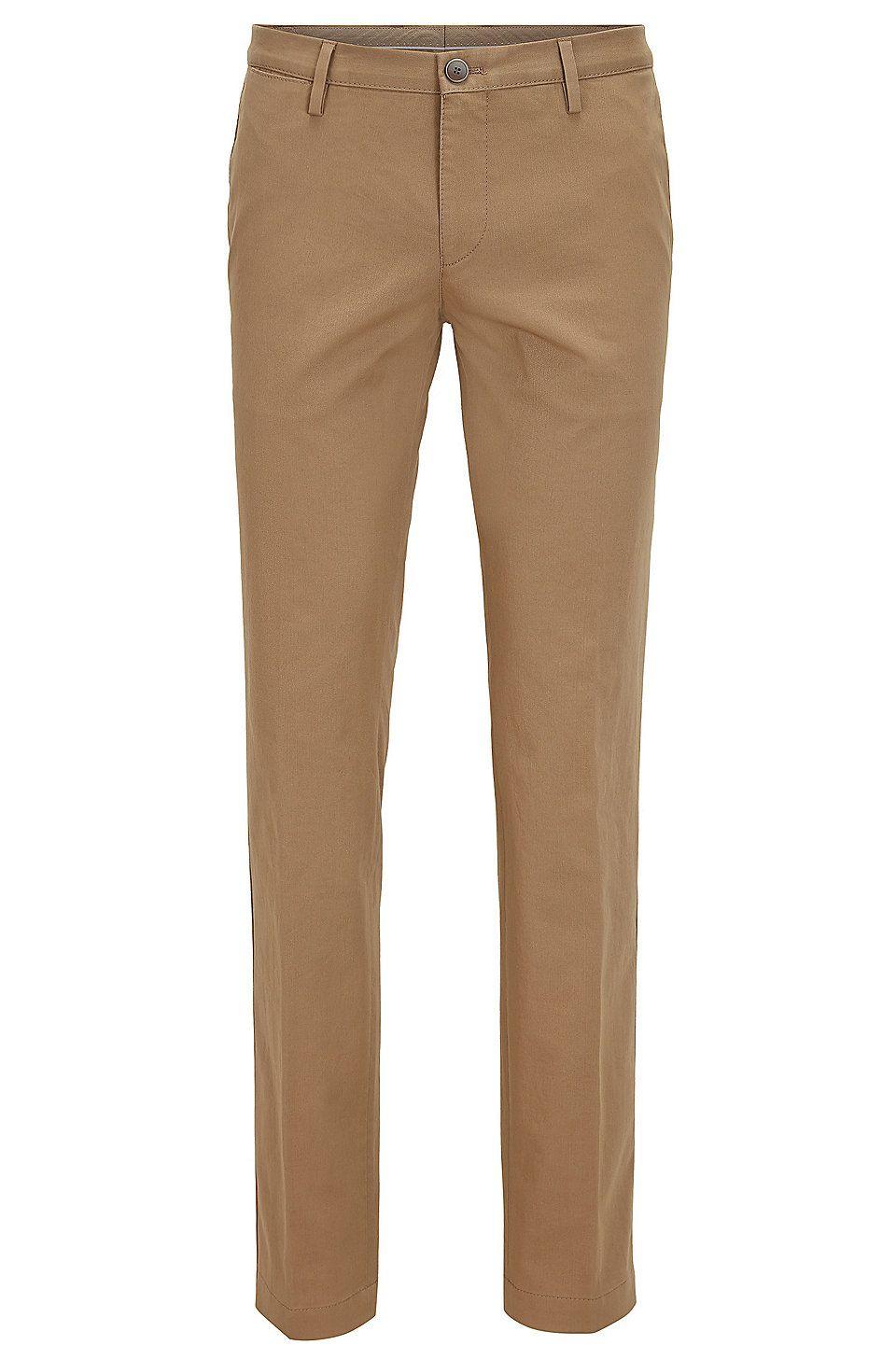 Hugo Boss Mens Slim-fit Chino Trouser Pant