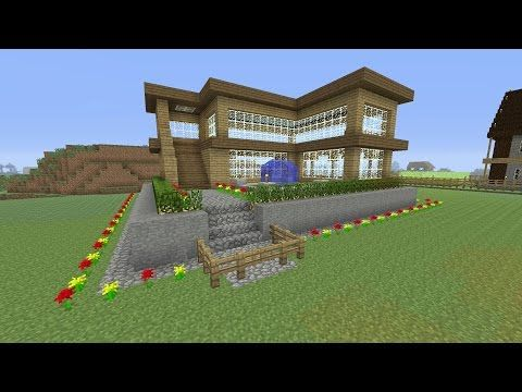 Minecraft Tutorial How To Make An Awesome Wooden Survival House