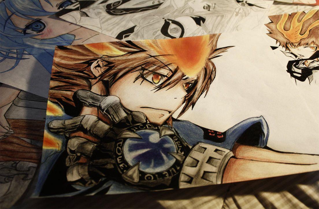 Fantástico Genial Anime Lobo Para Colorear Ilustración - Ideas Para ...