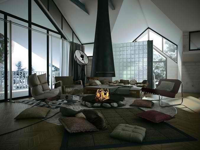 26 Small Inspiring Living Room Designs Attic Living Rooms
