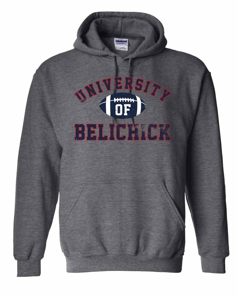 University of Belichick Sweatshirt Barstool Sports