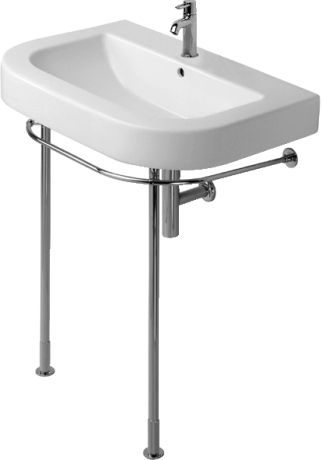 Duravit - Happy D Washbasins Metal console #003061 by Duravit - happy d badezimmer