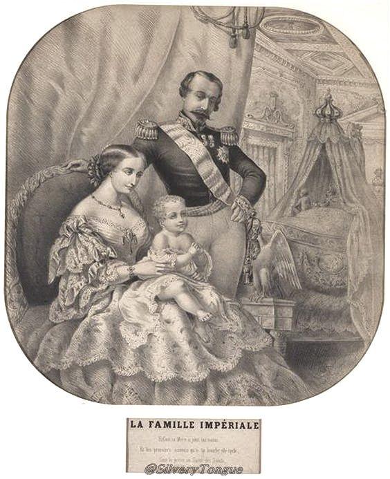 """La Famille Imperiale"""" (Imperial Family), Em…   La Belle"""