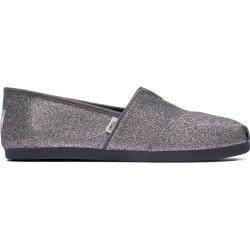Photo of Toms Schuhe Graue Glitter Canvas Classics Für Damen – Größe 37 TomsToms