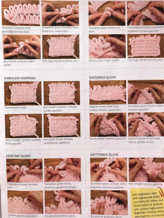 Alize puffy blanket yarn velvet yarn easy knitting yarn no | Etsy