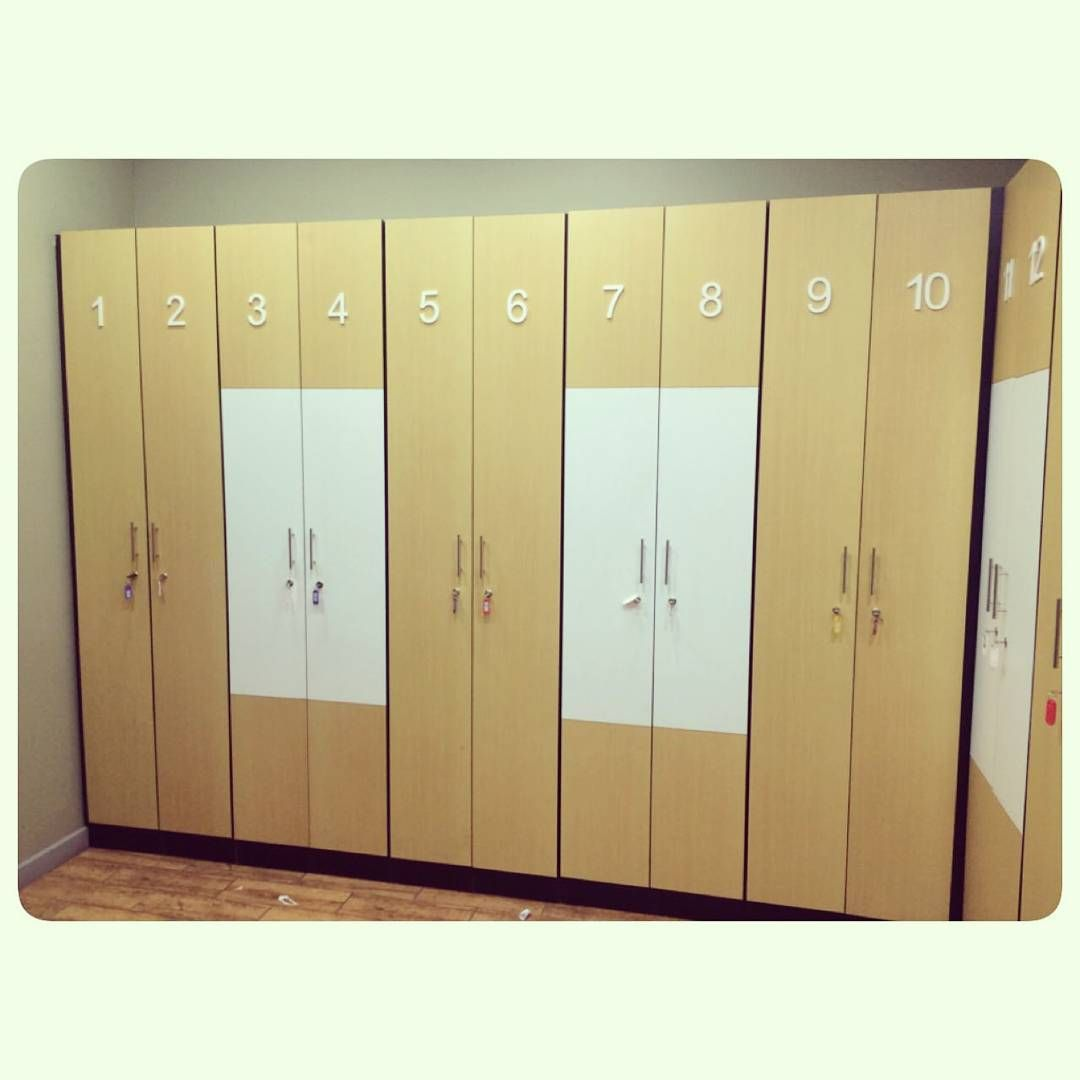 For Sale Lockers With Key Size 230 X 30 X 40 Good Condation Price 20 Bd For Each للبيع خزائن ملابس خشب مقاس 230x30x40 Locker Storage Storage Lockers