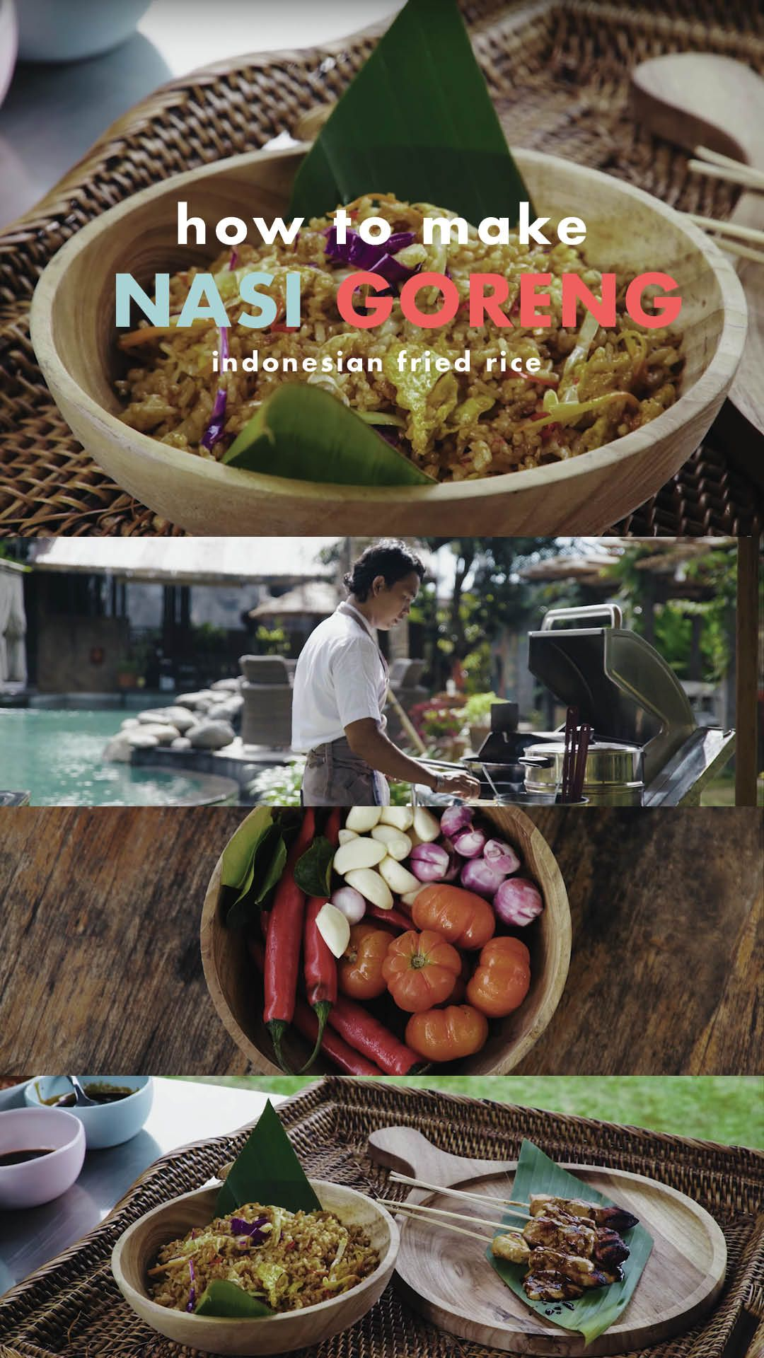 How To Make Nasi Goreng (Indonesian Fried Rice) Learn