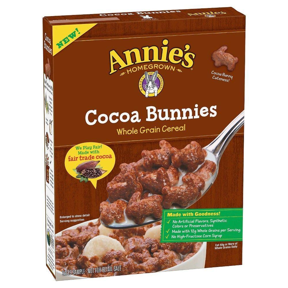 Annie's Cocoa Bunnies Whole Grain Breakfast Cereal