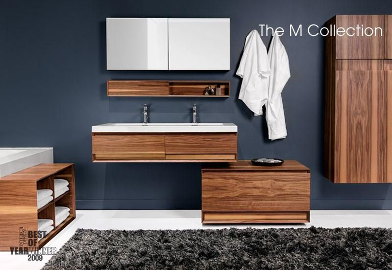 Wetstyle M Collection Vanity Minimalist Bathroom Design Modular
