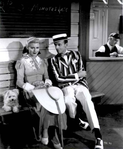 Ginger Rogers and Fred Astaire in 'The Story of Vernon and Irene Castle'