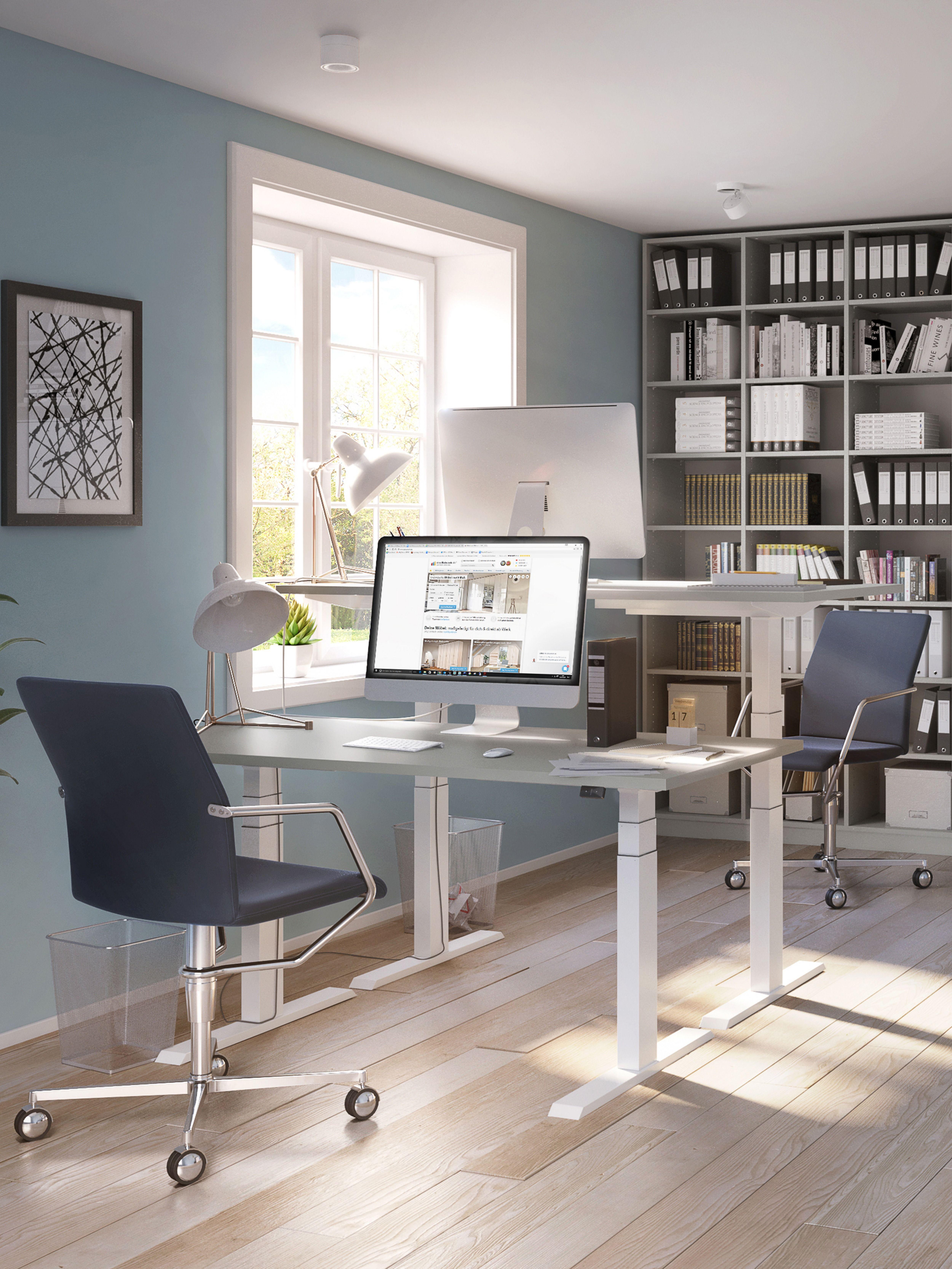 Hohenverstellbarer Schreibtisch Schreibtisch Tisch Hohenverstellbar Mobel Nach Mass