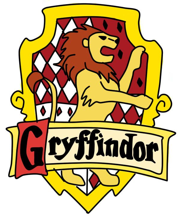 Harry potter gryffindor. Crest by redheadroulette on