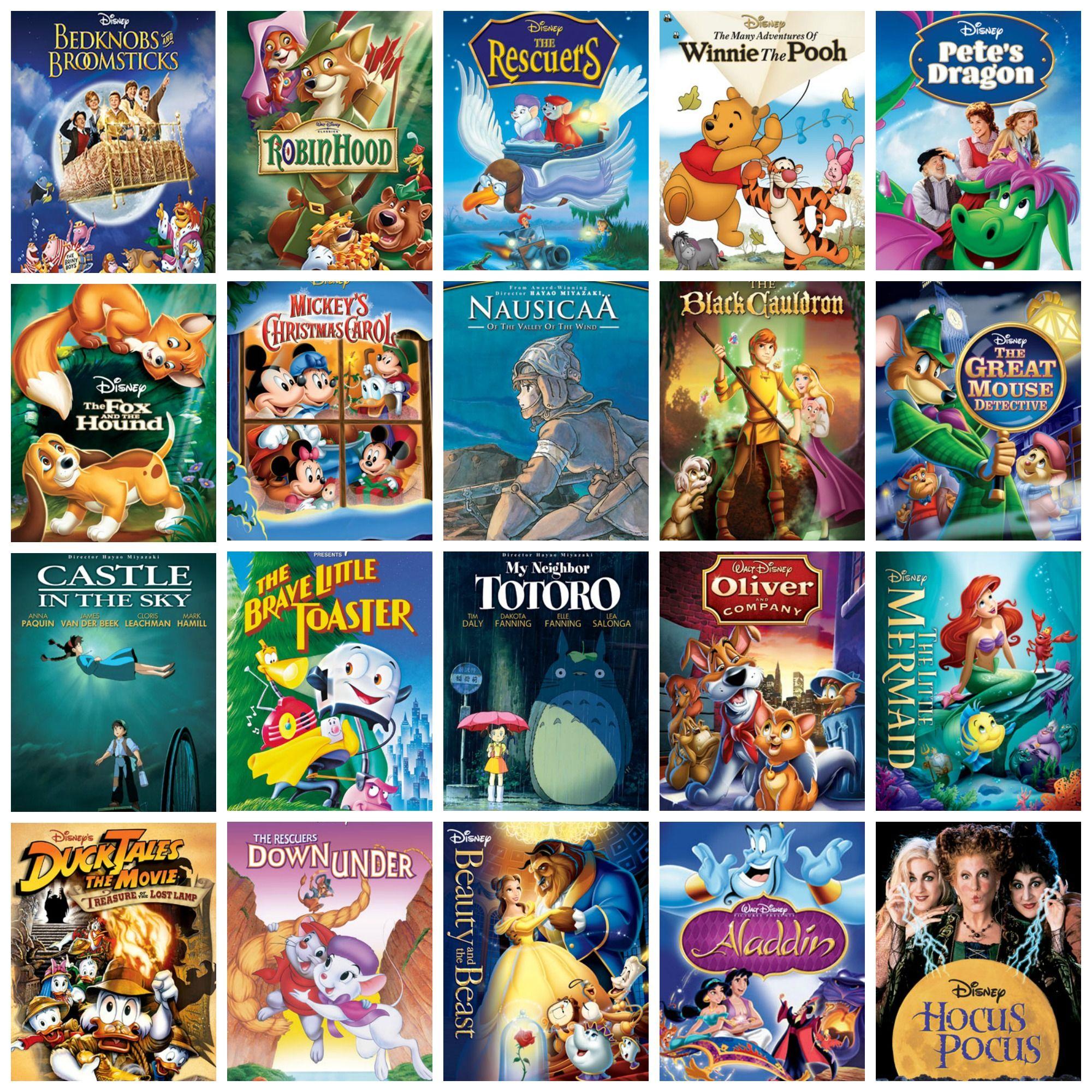 19711993 Disney movies in order of release. Disney