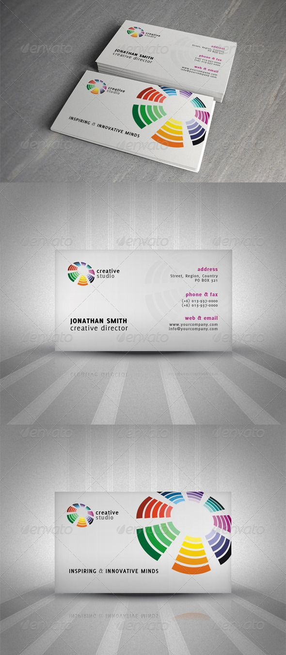 Creative corporate business card corporate business business creative corporate business card colourmoves