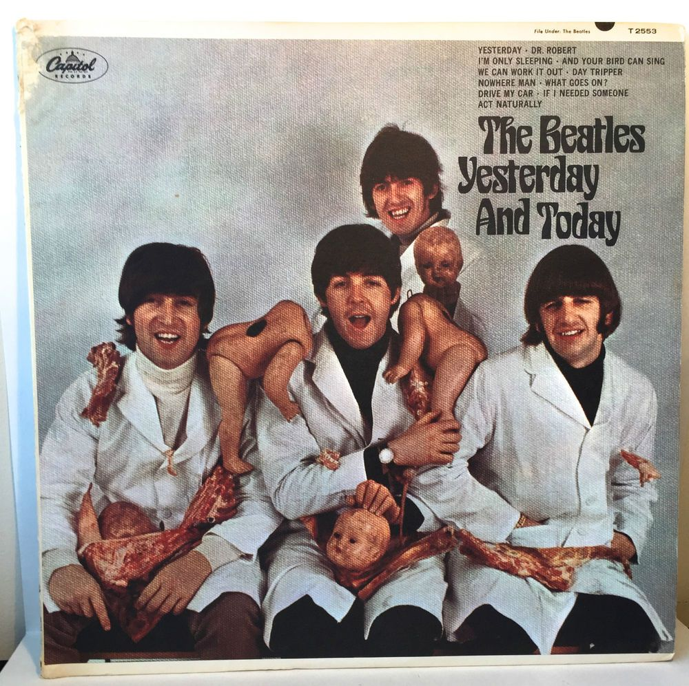 The Beatles 1966 Yesterday And Today First State Butcher Block
