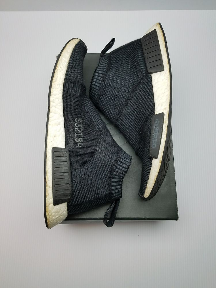 e8532d76455a9 Adidas NMD CS1 PK Primeknit S32184 City Sock Black Winter Wool Boost Size  10.5  fashion  clothing  shoes  accessories  mensshoes  athleticshoes (ebay  link)