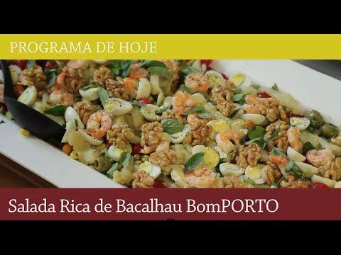 Receita Salada Rica De Bacalhau Para 12 A 15 Pessoas