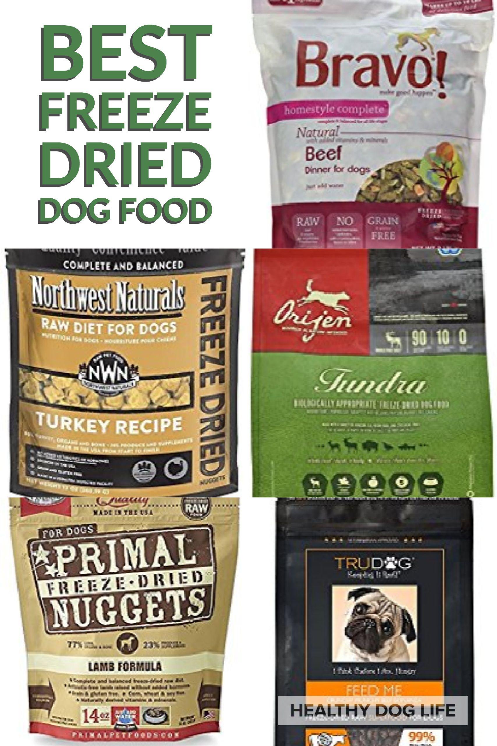 Best Freeze Dried Dog Food Health Dog Life Freeze