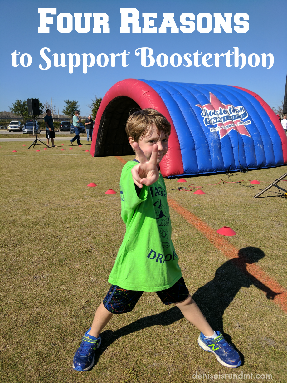 Four Reasons to Support Boosterthon - Run DMT