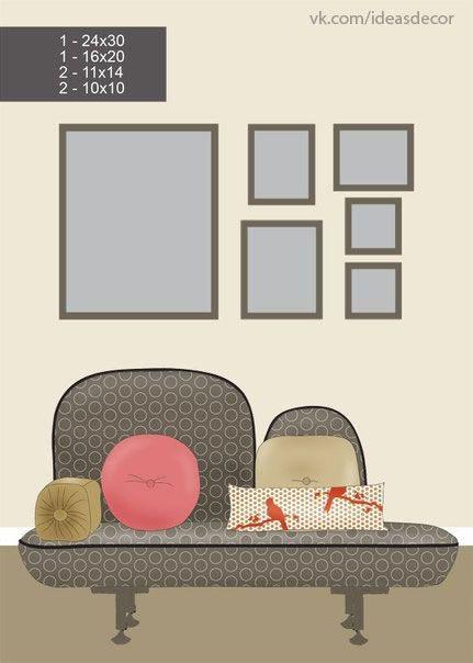 8 ideas para decorar con cuadros y fotos Decluttering, Organizing - cuadros para decorar
