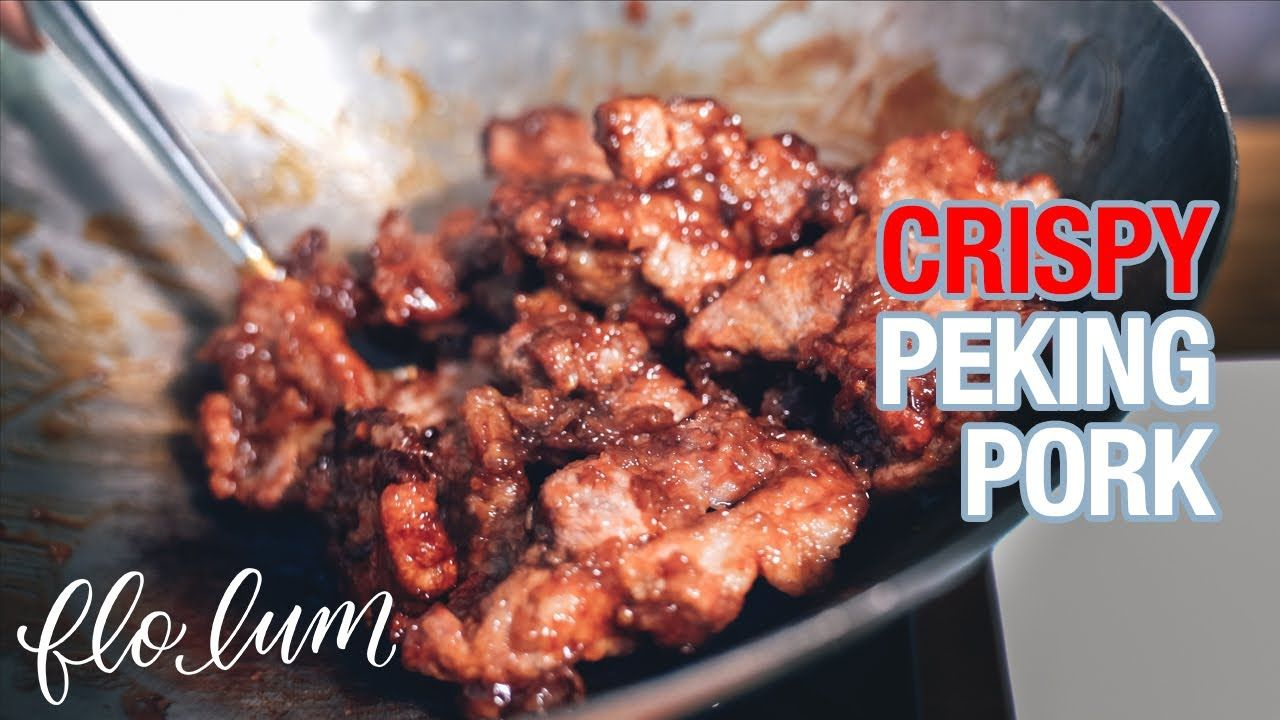 CRISPY Peking Pork in the Air Fryer Takeout Favourites