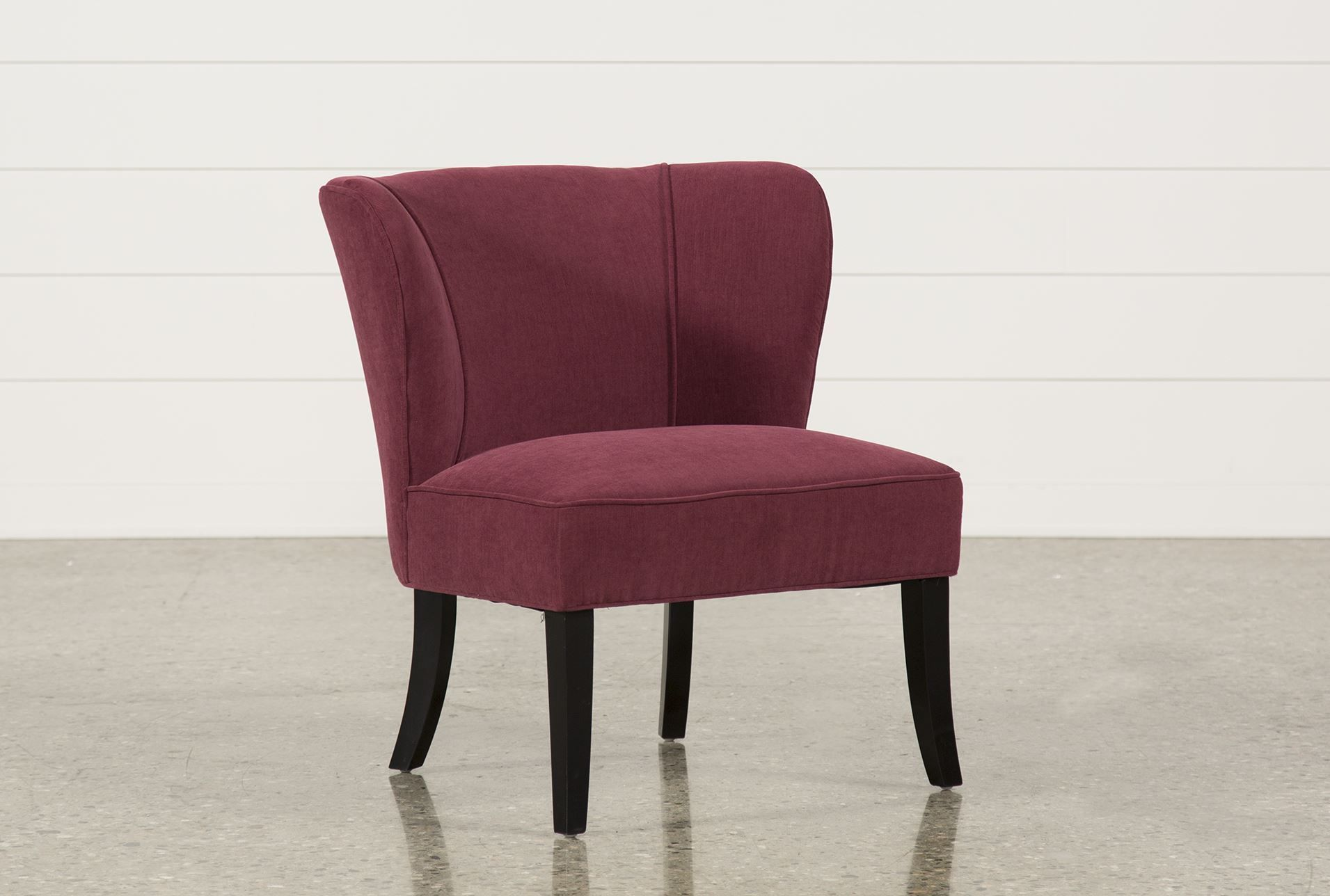 Sensational Riley Raspberry Accent Chair30 3W X 28 8D X 33 5H Theyellowbook Wood Chair Design Ideas Theyellowbookinfo