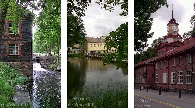 Elämää maalaismaisemissa: Fiskars Village