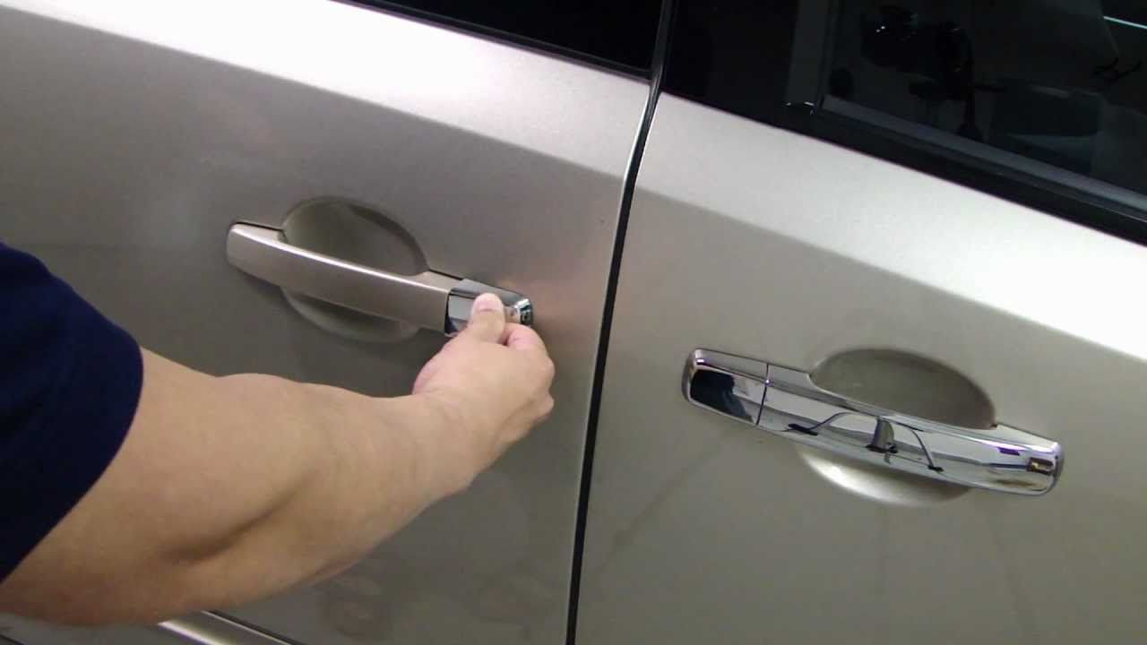 Nissan Chrome Door Handle Covers - Install | vip cars -- Japan ...