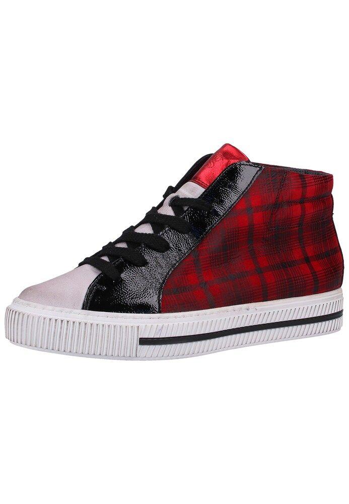 Paul Green Sneaker Damen, Rot Schwarz, Größe 37.5 | Paul