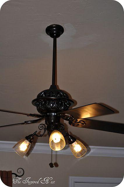 Pin By Kelsie Lewis On Decor Ceiling Fan Diy Ceiling Fan Makeover Diy Ceiling