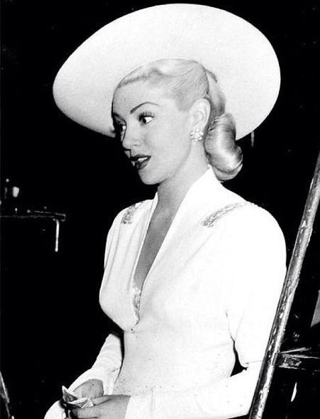 Todays hair & make up inspiration from Lana Turner