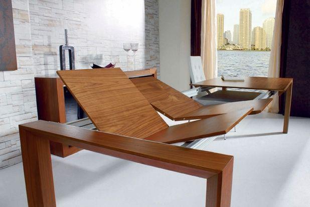 Mesas y sillas mesa comedor extensible a tama o xxl ref mys06 mobelinde muebles a medida - Fabrica muebles barcelona ...