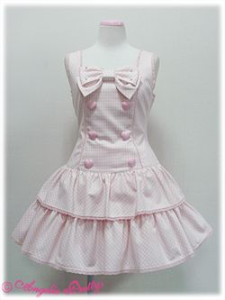 Angelic Pretty / Jumper Skirt / Candy Girl JSK