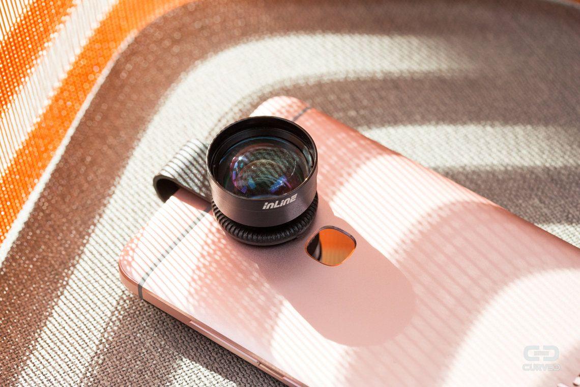 Das Inline 3x-Teleobjektiv zum Anstecken an Smartphones ausprobiert